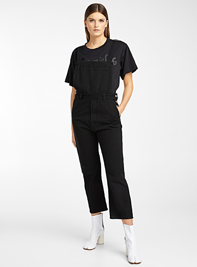 Square-pocket overalls