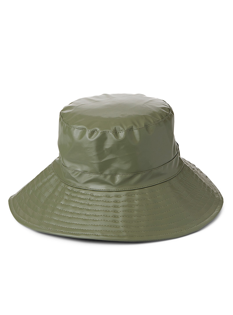 Rains Green Boonie rain hat for women