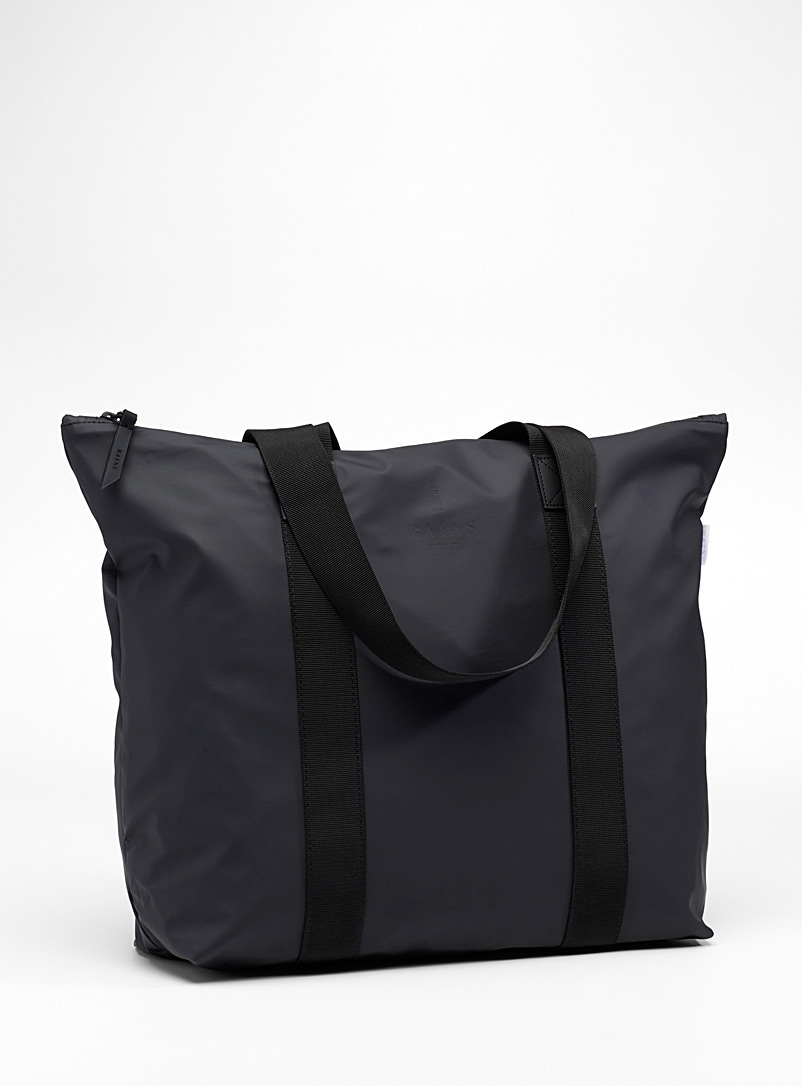 Soft waterproof tote - Tote Bags - Black