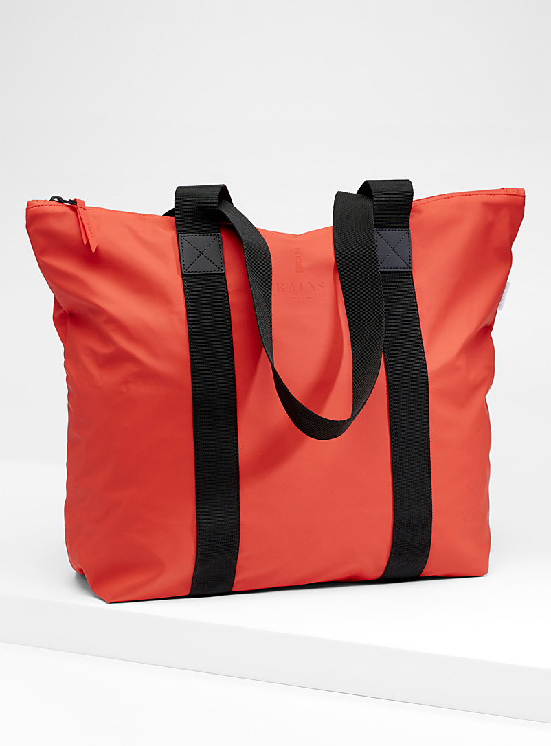 Soft waterproof tote - Tote Bags - Red