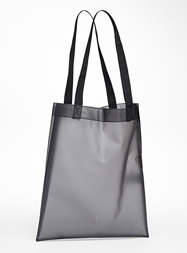 Translucent waterproof tote