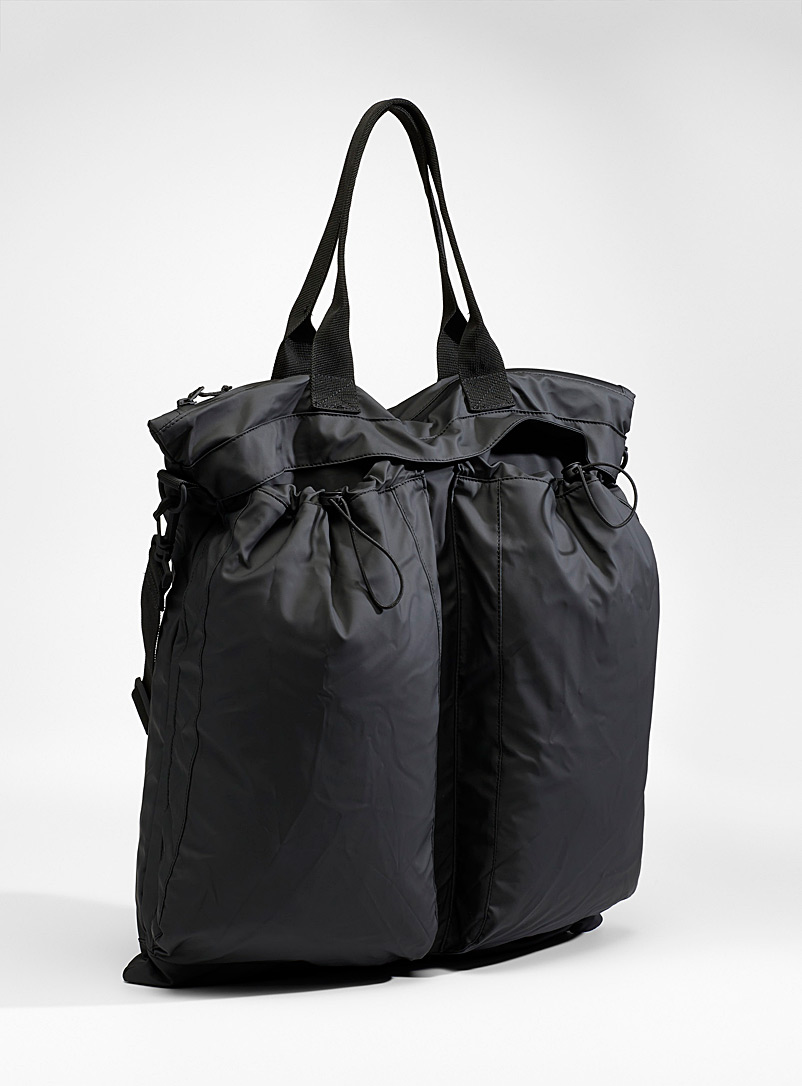 Rains Black Ultra light tote for women