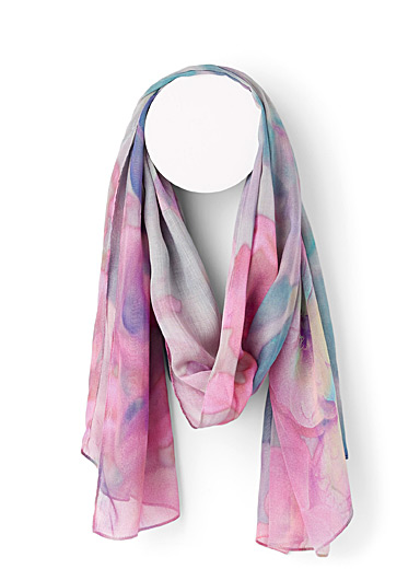 Soft Flower scarf