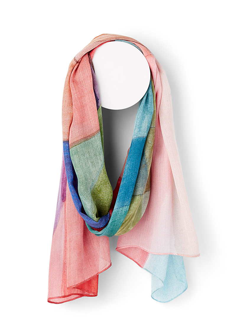 The View scarf - Light scarves - Patterned Red
