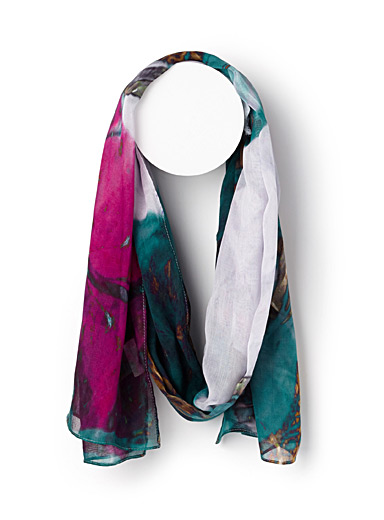 Metallic Butterfly Wings scarf