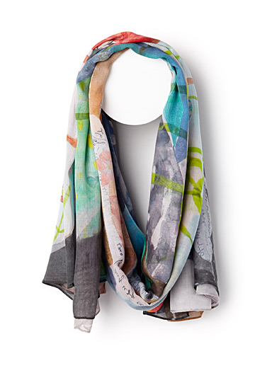 Collage Dream scarf