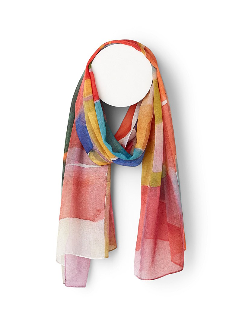 The Artists Label Assorted red Multiform scarf for women