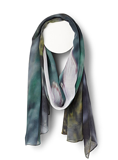 Flight Over Water scarf