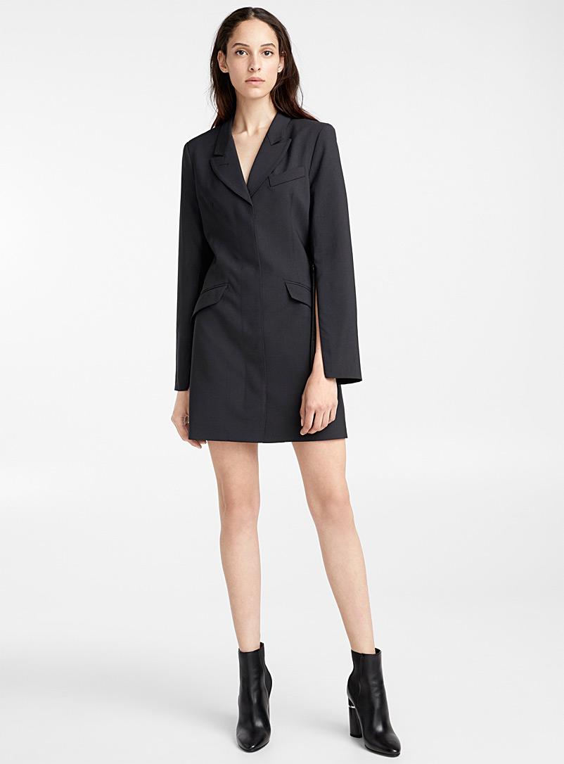 zipped-sleeve-coat-dress