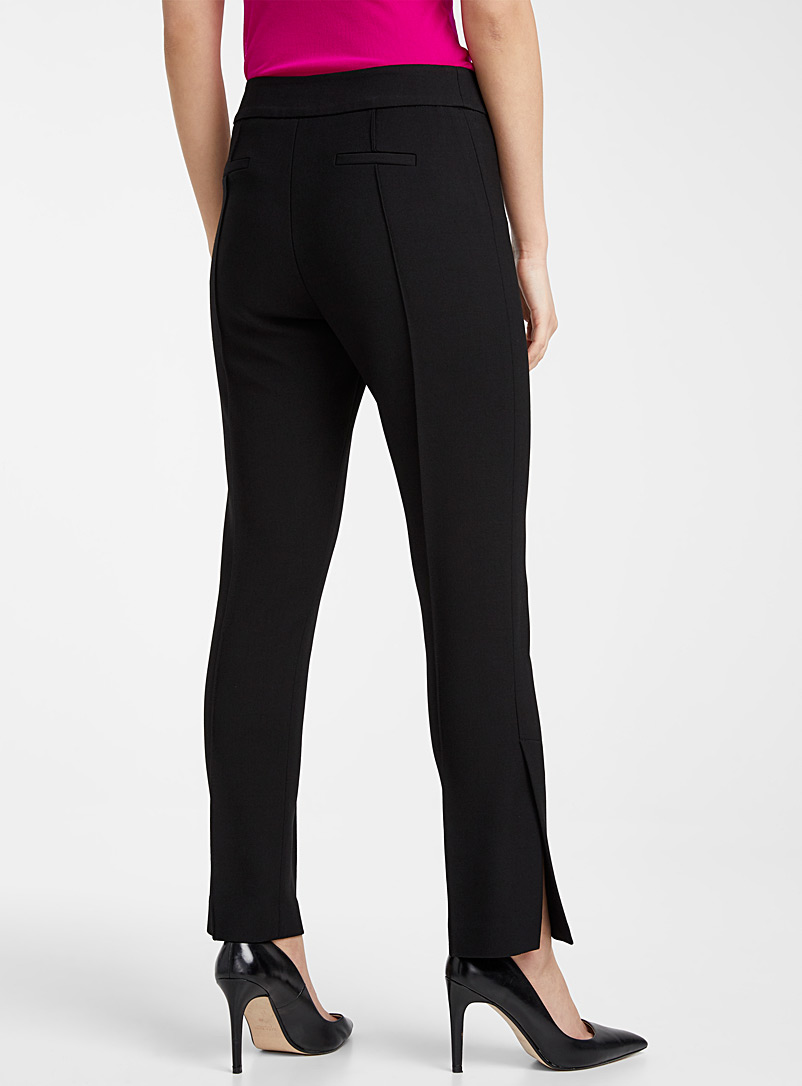Smythe Black Stovepipe pant for women