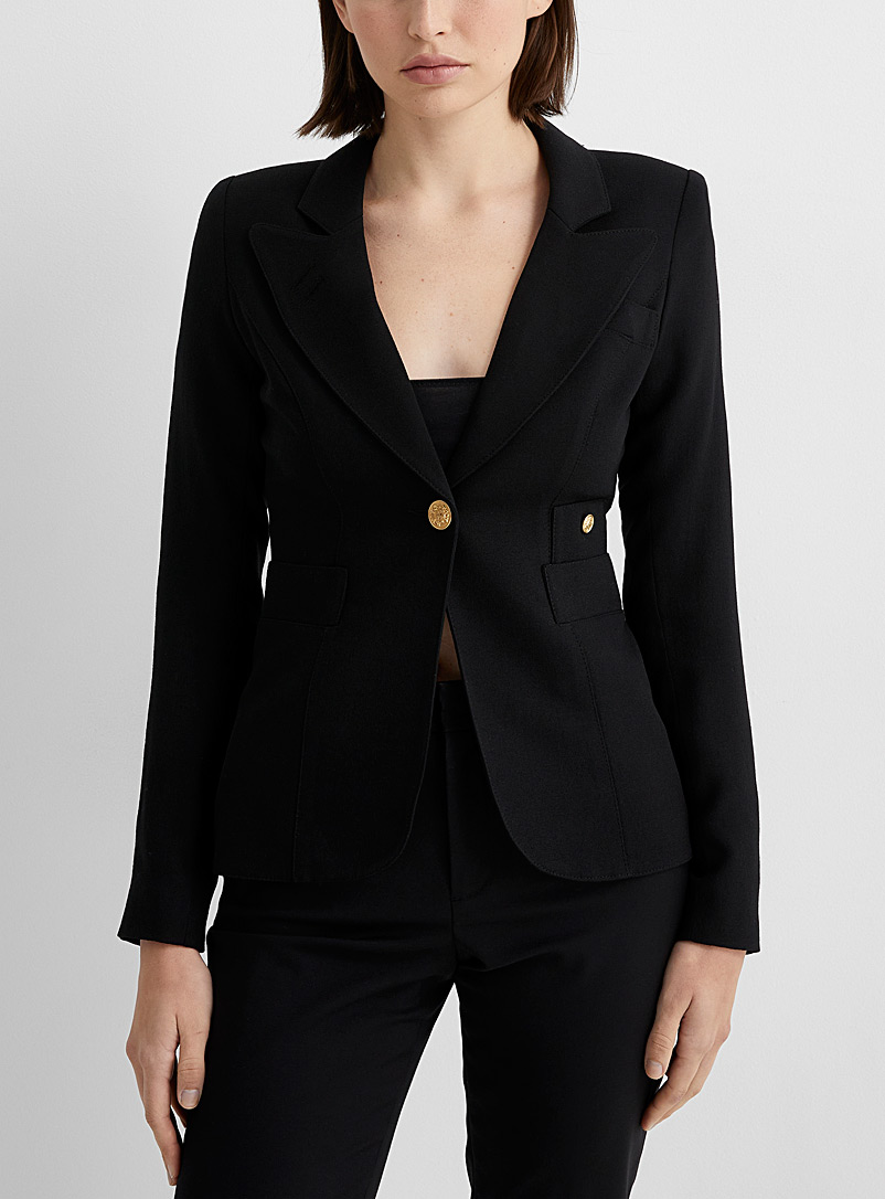 Smythe Black Classic jacket for women