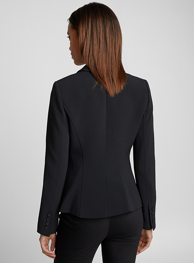 Wrap jacket - Smythe - Black
