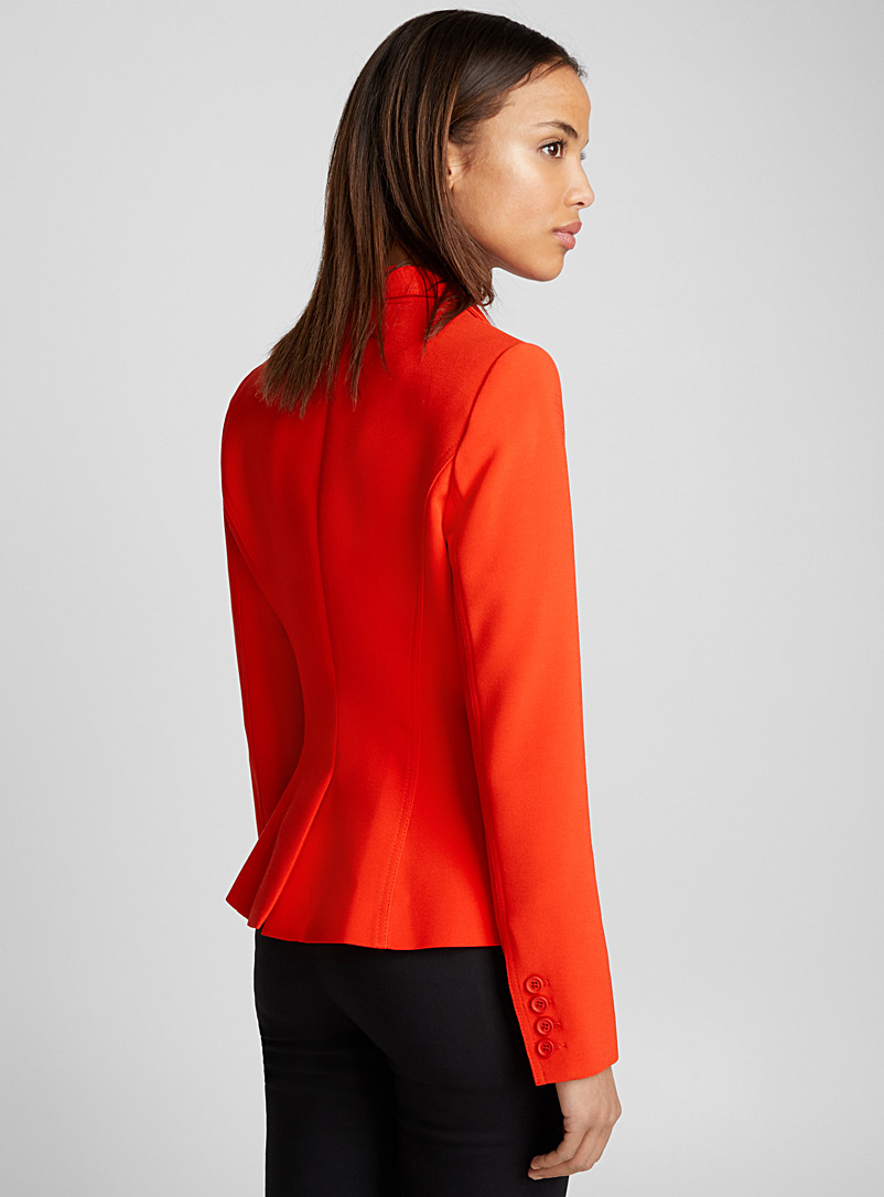 Wrap jacket - Smythe - Red
