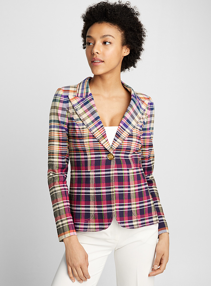 Duchess Madras jacket - Smythe - Assorted