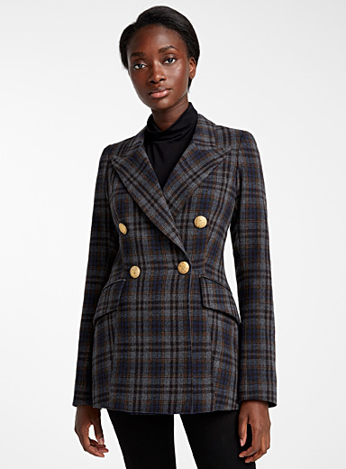 Wedding check jacket