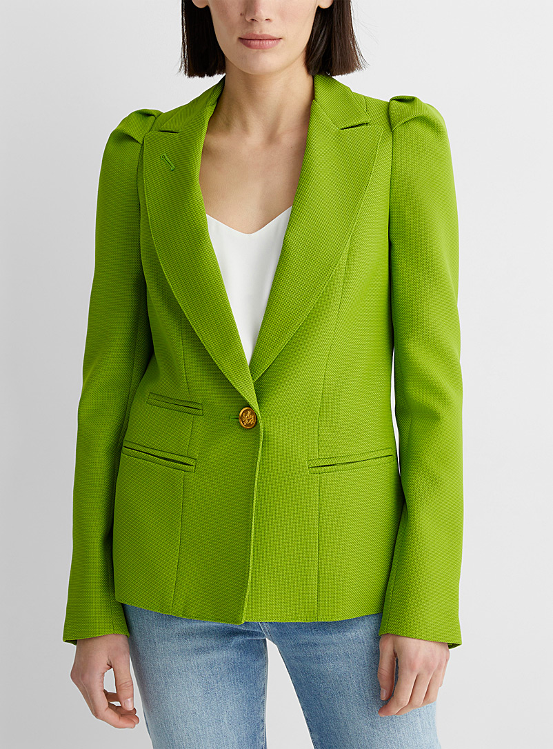 Smythe Lime Green Lime green jacket for women