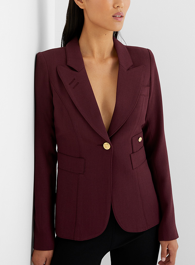 Smythe Ruby Red Classic jacket for women