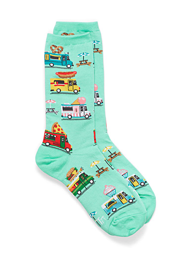 Food Trucks socks