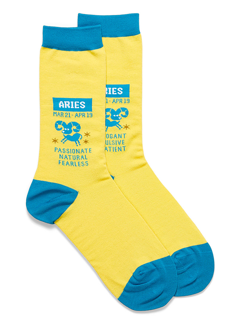 Aries zodiac socks - Socks