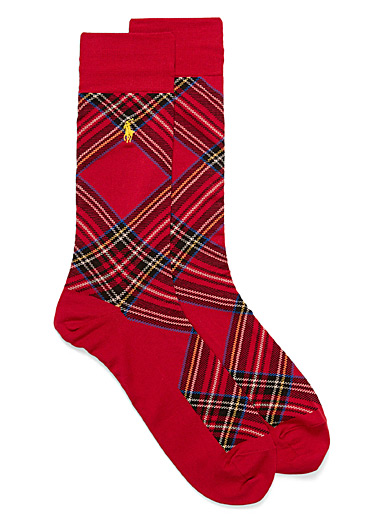 Stewart royal tartan socks