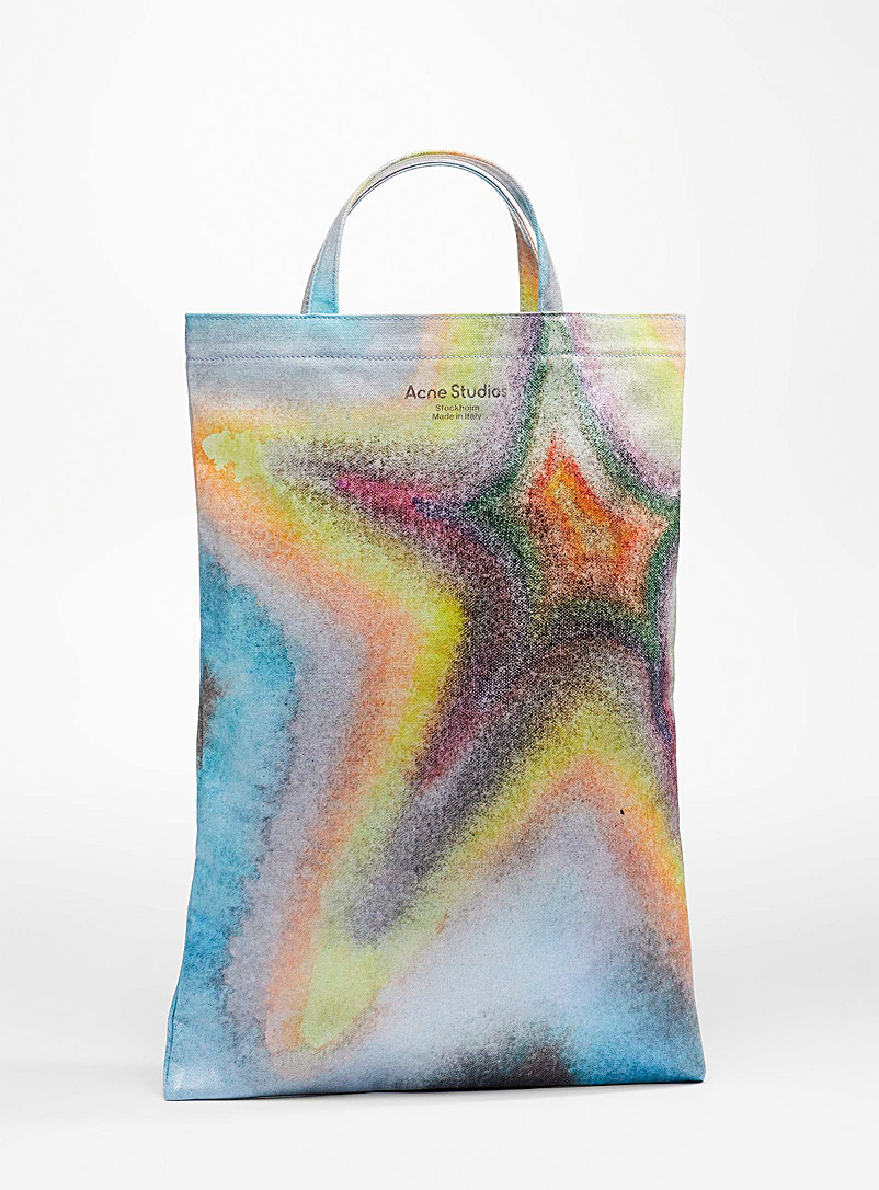 Acne Studios Assorted Tie-dye star tote for women