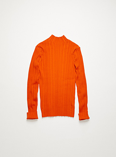 Acne Studios Red Mock neck sweater for women
