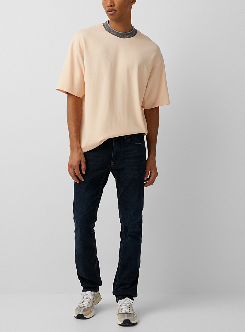 Acne Studios Dark Blue Max Blue Black jeans for men