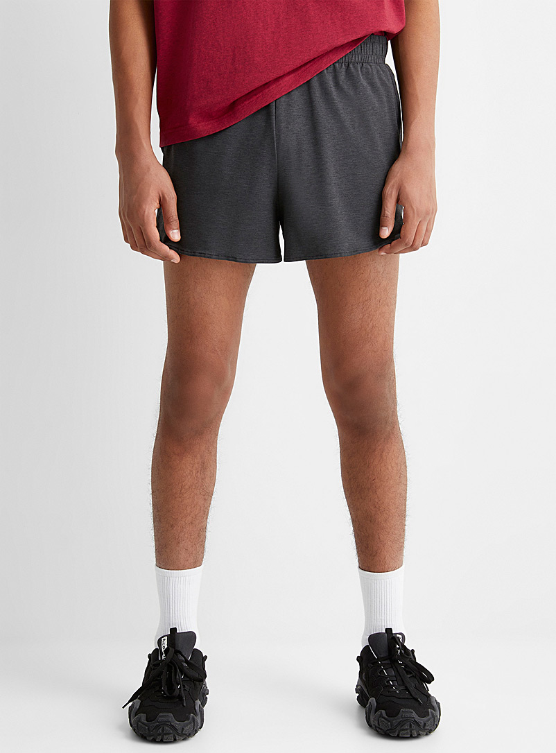 Acne Studios Black Dark grey Face short for men