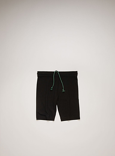 Acne Studios Black Cycling shorts for men