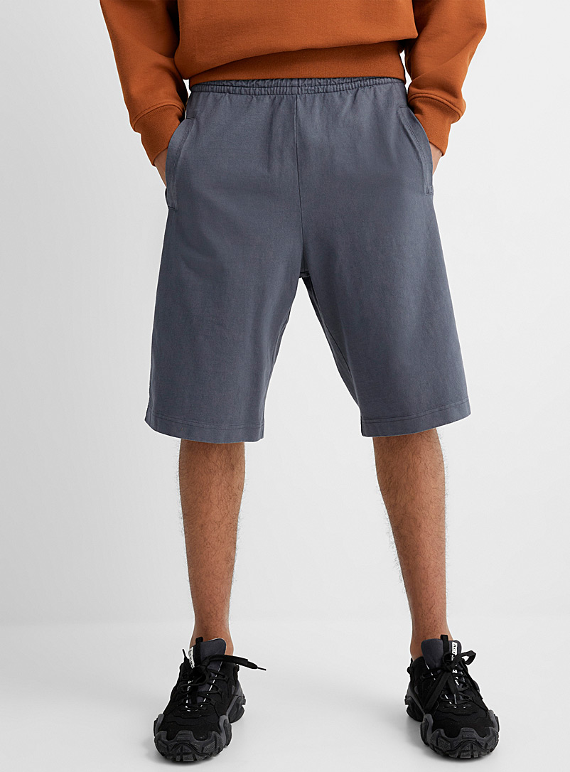Acne Studios Grey Casual jersey Bermudas for men