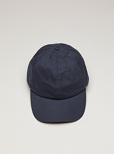 Acne Studios Marine Blue Embroidered logo cap for men