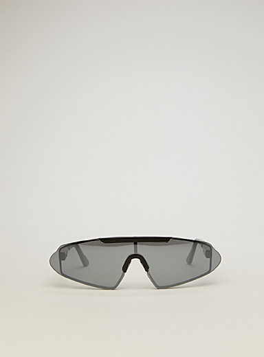 Acne Studios Black Angular shape sunglasses for men