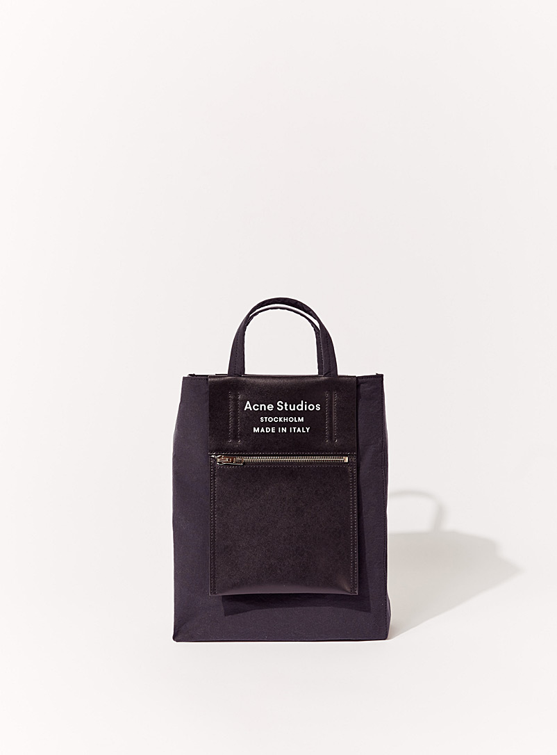 Acne Studios Black Logo tote bag for men