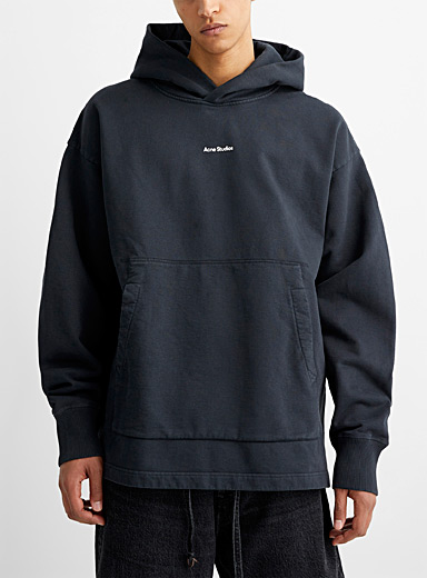 Oversized solid hoodie