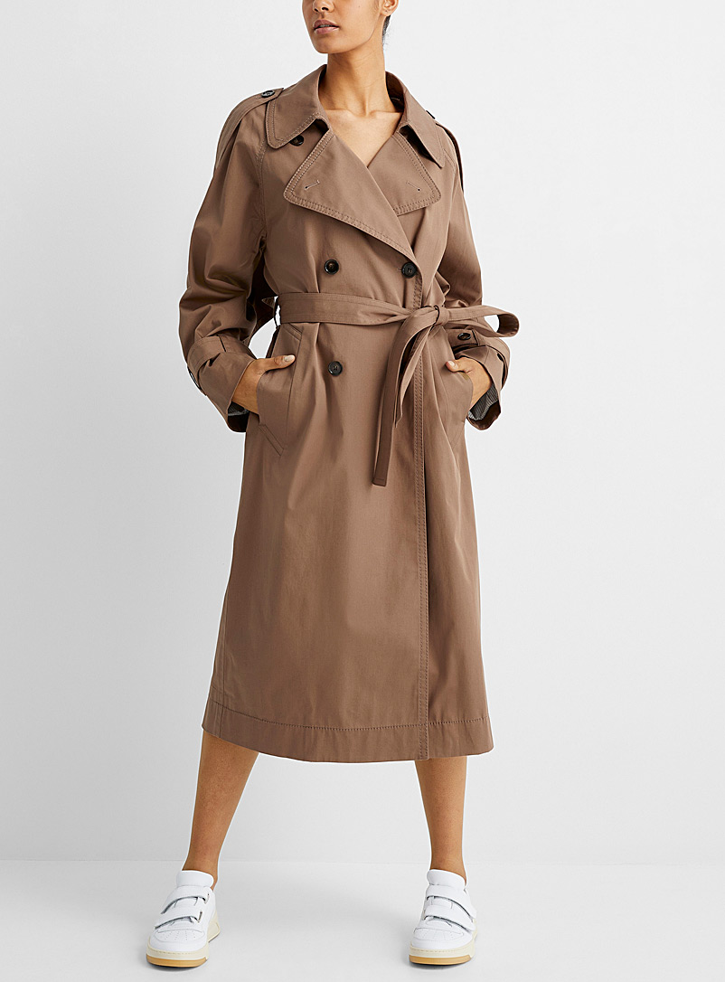 Acne Studios Fawn Oversized cotton trench for women