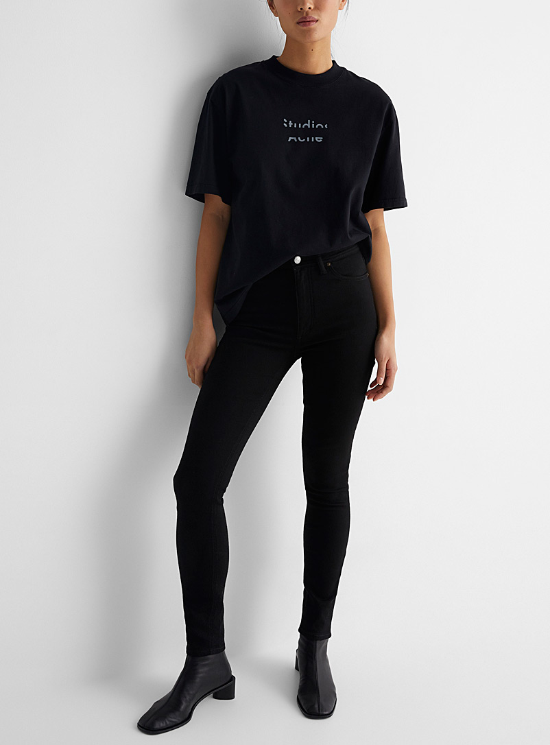 Acne Studios Black Peg skinny jeans for women