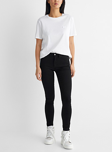 Acne Studios Black Climb Stay jeans for women