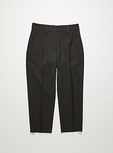 Acne Studios Black Cropped pant for women