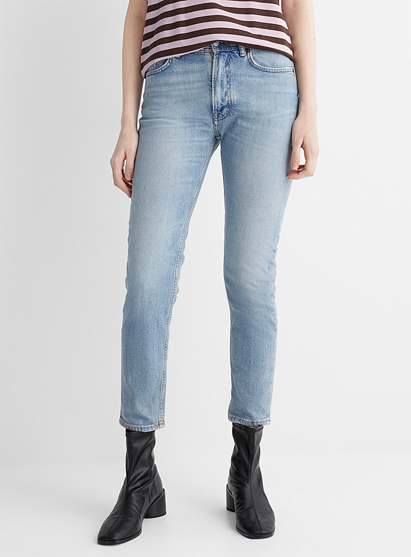 Acne Studios Baby Blue Light blue Melk jean for women