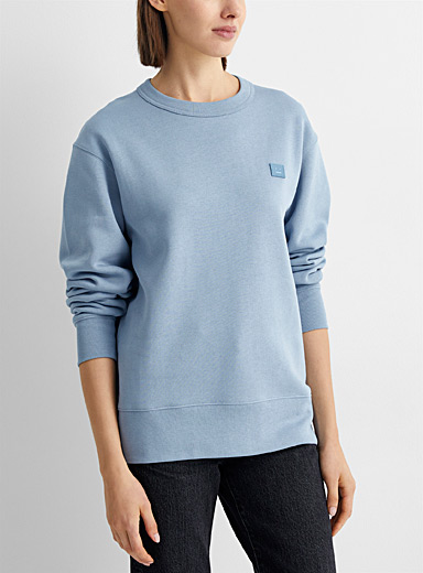 Tonal face patch sweatshirt