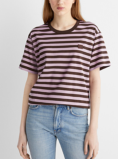 Striped Face T-shirt
