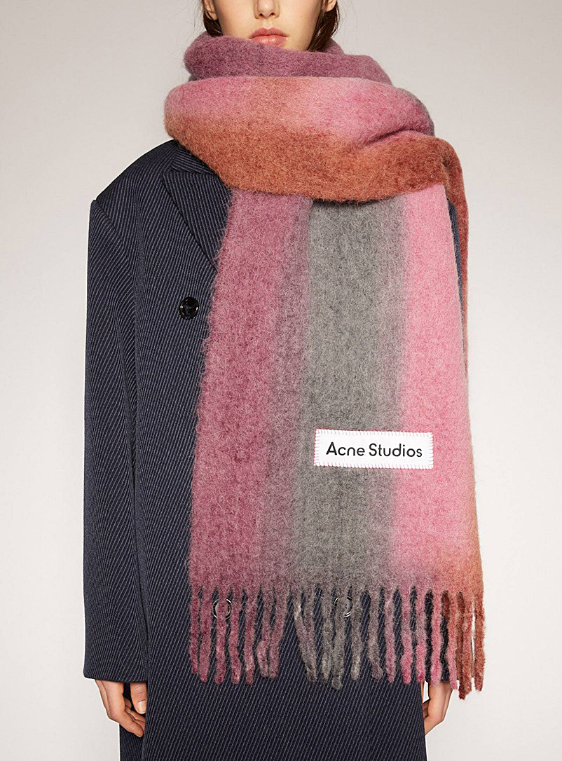 Acne Studios Assorted Gradient oversized scarf for women
