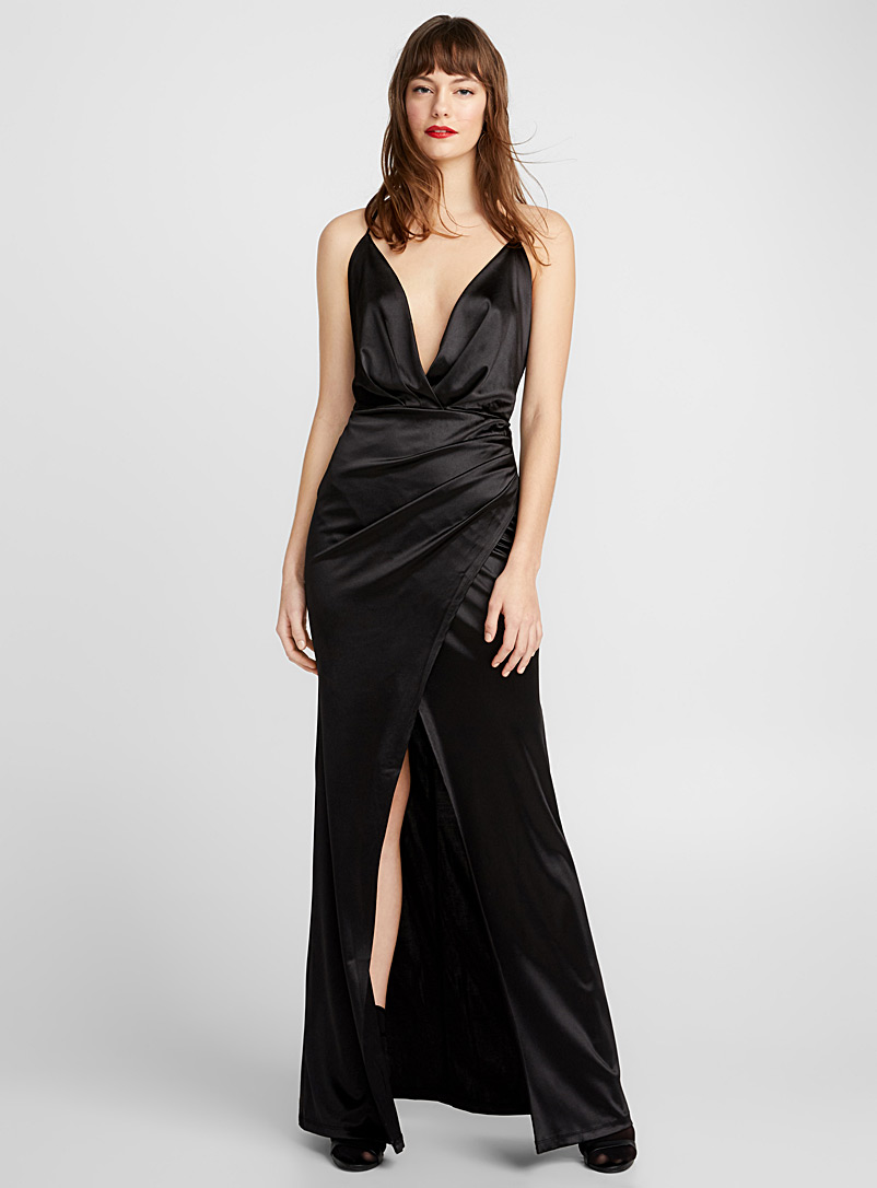 black-satin-maxi-slip-dress