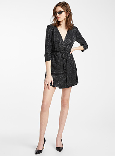 Magical night wrap dress