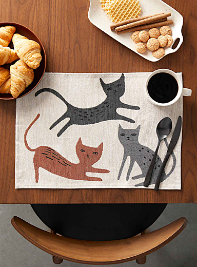Cats tapestry placemat