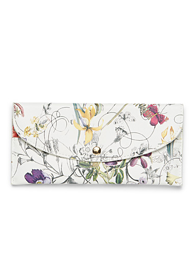 Spring bouquet wallet