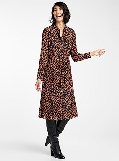 Andi paisley shirtdress