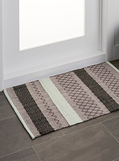 Graphic blocks floor mat <br>60 x 90 cm
