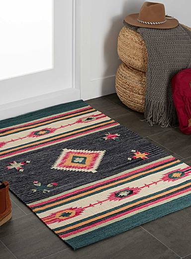 Colourful kilim rug <br>90 x 130 cm