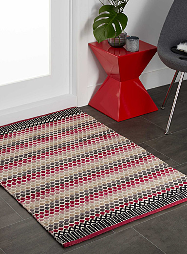 Mini diamond kilim rug <br>90 x 130 cm
